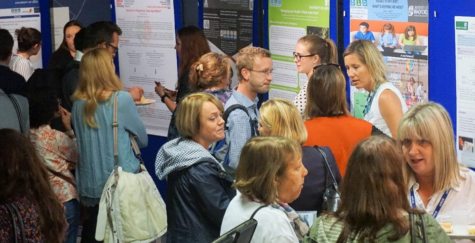 PhD student poster sessions at born in bradford annual conference